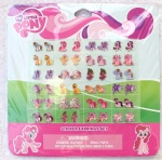 Cartoon My little pony Earring Sticker