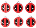 Marvel Comic Deadpool Metal Round Pendants