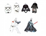 Star Warsr Metal Pendants Black/White