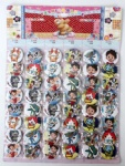 Anime Youkai Watch 4.5cm Cartoon Badge and Buttons