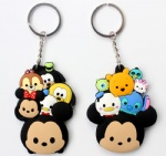 Tsum Mickey/Minnie Double sided PVC Keychains