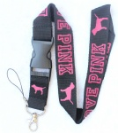 Love Pink Lanyard VS Black/pink