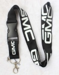 GMC Car Logo Lanyard Black/white