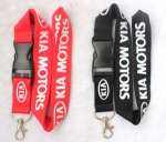 KIA Lanyard Black/white Red/white