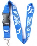 Love Pink Lanyard Royal blue