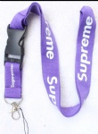 Supreme sup Lanyard Strap Purple
