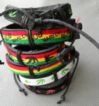 Bob Marley Tribal Leather Bracelets