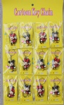 Keychains A 12-piece Mickey Mouse Shape
