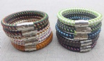 10 Colours Leather Bracelets