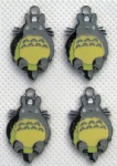 Tonari no Totoro PHONE CHARMS Jewelry Metal Pendants