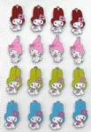 melody Figure Pendant Charms