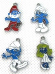 The Smurfs Metal Charms Earrings Pendants Jewellery Making