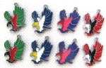 eagle mobile phone charms pendants