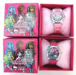 Monster High Cartoon Girls Kids Children Wrist Watch Gift