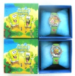 Spongebob Wristwatches Watch Free boxes