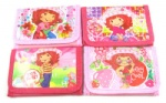 Strawberry Shortcake Girl`s cartoon Purses coin Wallet