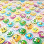 Cute Frog 2.5 cm Button Pins Badge Wholesale
